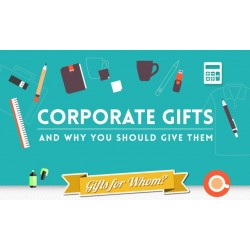 Why give corporate gifts away to people