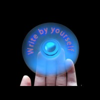 LED Texts Fidget Spinner