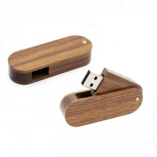Wood Swivel USBs Flash Drive