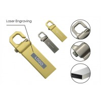 Metal USB Flash Drive with Clip