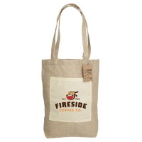 Jute Reforest Shopping Gusset Bag