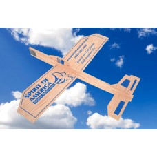 Branding Balsa wood Gliders