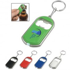 Bottle Opener Key Chain With LED Light
