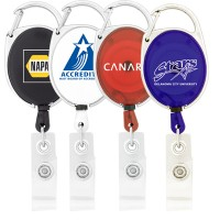 Badge Retractable Holder Clip Carabiner