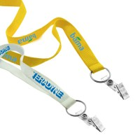 Cheap Screen Printed Lanyard