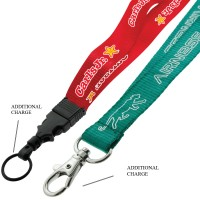 Nylon Lanyard with Customised Logo