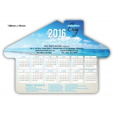 House Shape Fridge Magnet Calendar