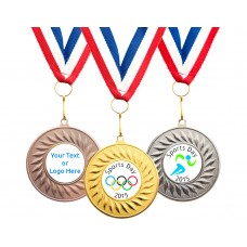 Sport Medal with Customised Logo