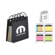Branding Recycled Sticky Notepad with Customised Logo
