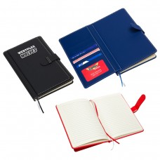 Customised Travel Notebook with Card Pockets