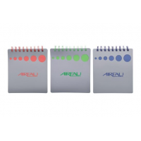 PP Material Cover Notepad