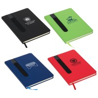 Soft Cover Notebook with Pen Holder