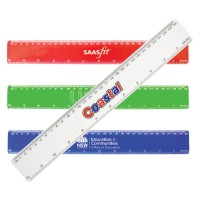 Plastic Ruler with Customised Logo