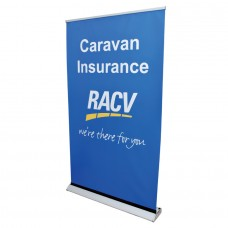 Deluxe Roll Up Custom Banner Large