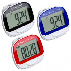 Large Screen Multifunction Pedometer with Clock