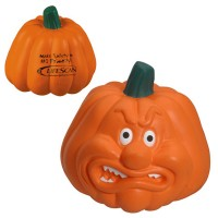 Angry Pumpkin Stress Toy with Customized Logo