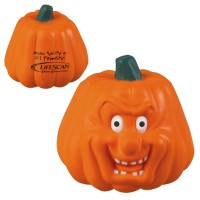 Maniacal Pumpkin Stress Toy with Customized Logo