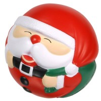 Santa Claus Ball Stress Toy with Customized Logo