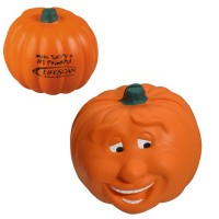 Smile Pumpkin Stress Toy with Customized Logo