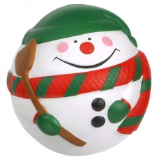 Snowman Ball Stress Toy with Customized Logo