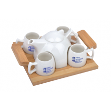 6 in 1 Ceramic Tea Cup Set