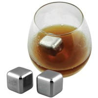 Steel Stainless Cube Ice