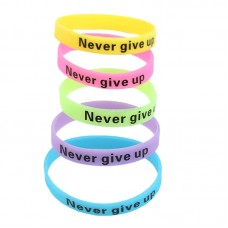 Glow In Dark Silicone Wristband